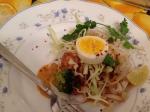 Khow Suey:  Burmese double delectabledelight