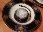 Blissful Flourless Molten ChocolatePudding