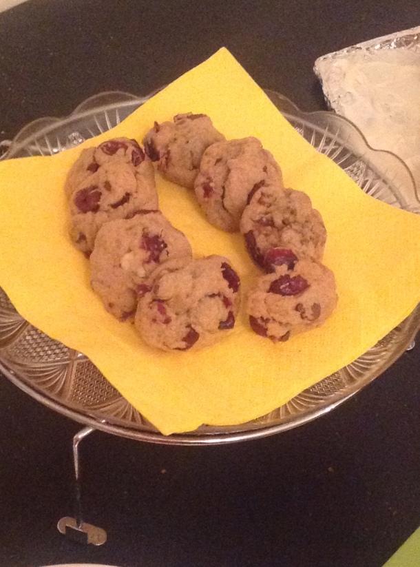 cranberry cookies 2