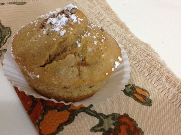Kick start your day with glorious apple muffins.