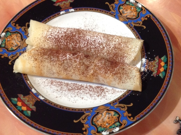 Twirl me a crepe as fast as you can…