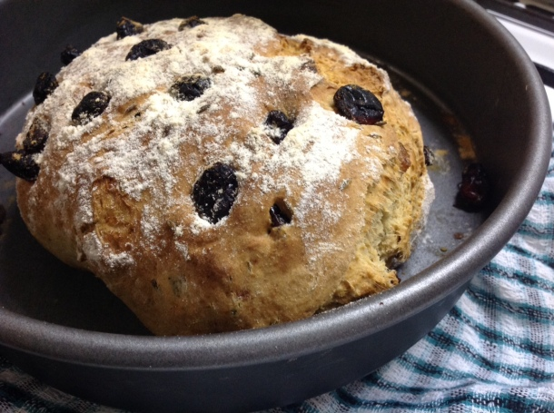 Not your usual quick bread!