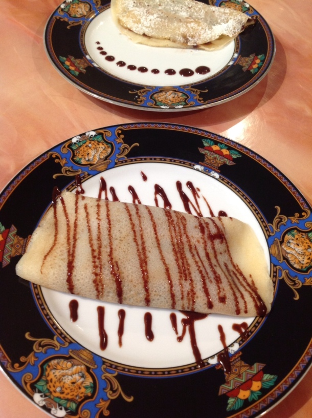 No need to go to a French bistro, grab your ladle and whip up some delectable crepes for brunch!