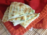 Gorgeous Herb flavored Naan