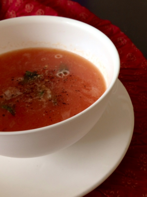 A quick and easy recipe for healthy and tasty tomato soup